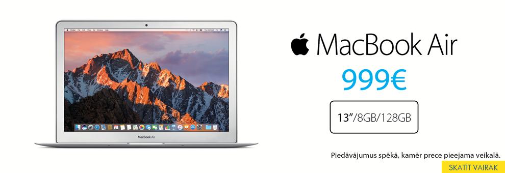 Apple MacBook Air par īpašu cenu