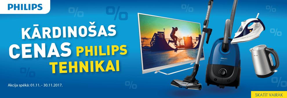 Kārdinošas cenas Philips tehnikai!