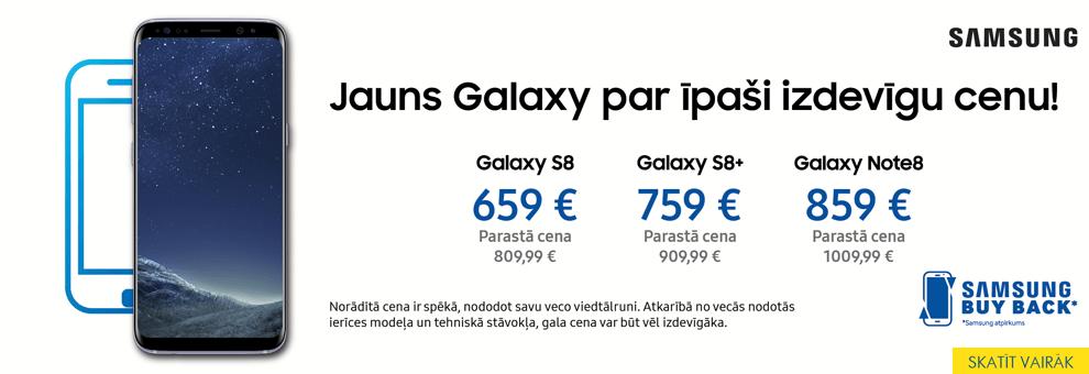 Jauns Galaxy par īpaši izdevīgu cenu!