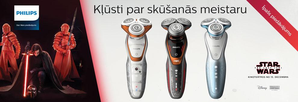 Philips Starwars - Kļūsti par skūšanās meistaru