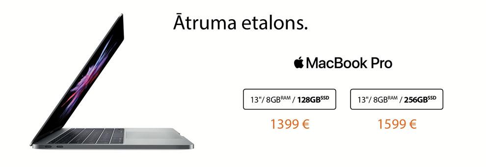 MacBook Pro piedāvājums