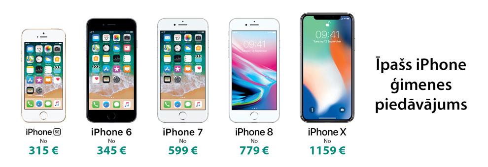 Īpašs iPhone piedāvājums