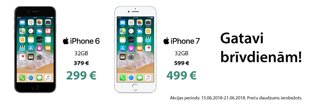 iPhone 6, 7 / 32GB