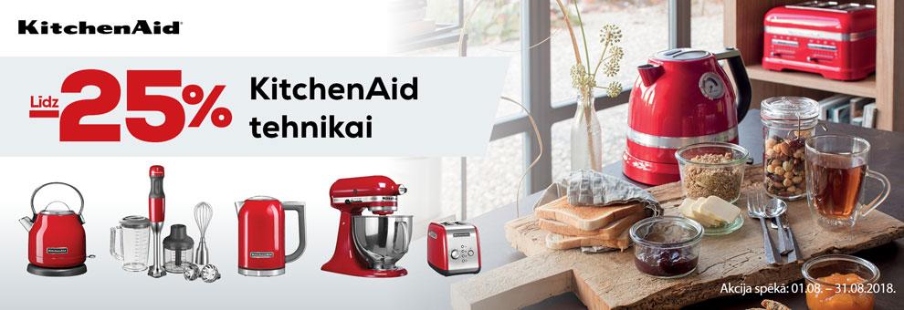 Līdz 25% Kitchenaid produktiem