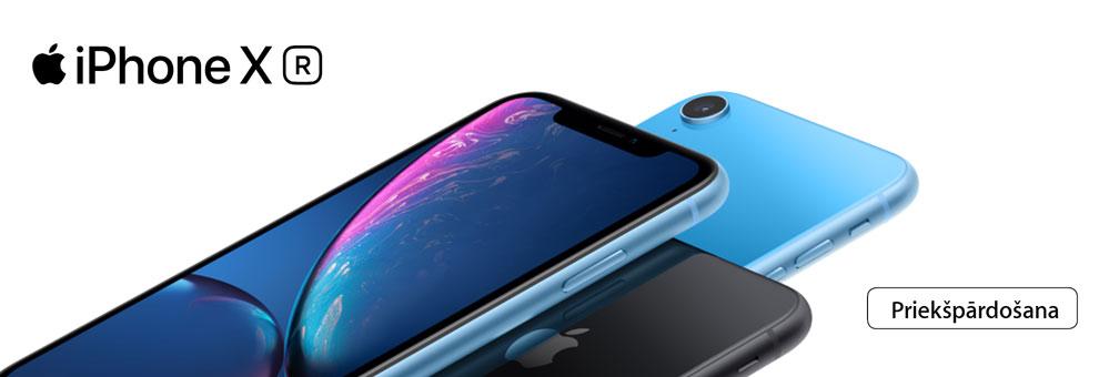 iPhone XR iepriekšpārdošana