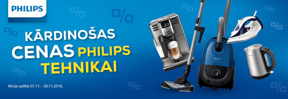 Kārdinošas cenas Philips tehnikai
