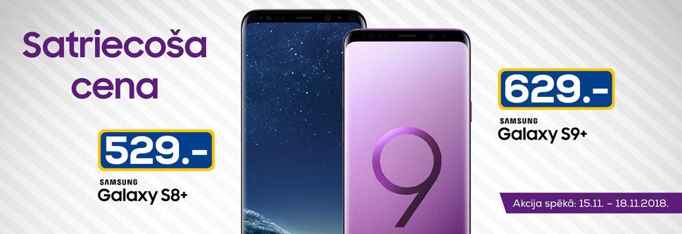 Satriecoša cena Samsung viedtālruņiem