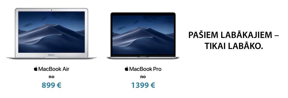 Apple Macbook piedāvājums