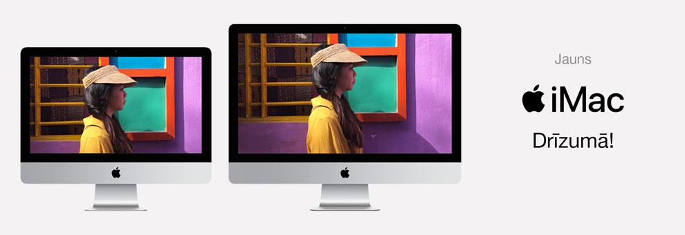 Jaunais iMac drīzumā
