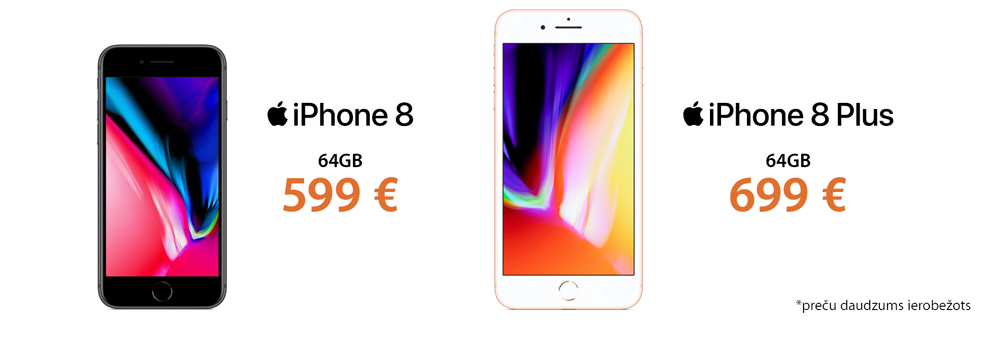 Apple iPhone 8 zibpārdošana
