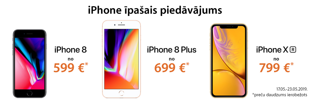 Apple iPhone XR, 8 zibpārdošana