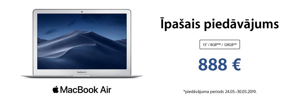 Apple MacBook Air īpašais piedāvājums
