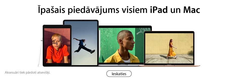 0% līzings uz 24 mēnešiem Apple Mac ar InCredit