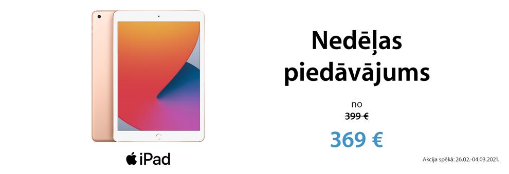 Apple iPad īpašais piedāvājums