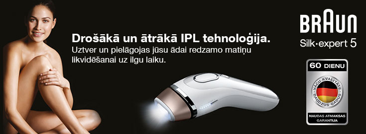 Drošākā un ātrākā IPL tehnoloģija