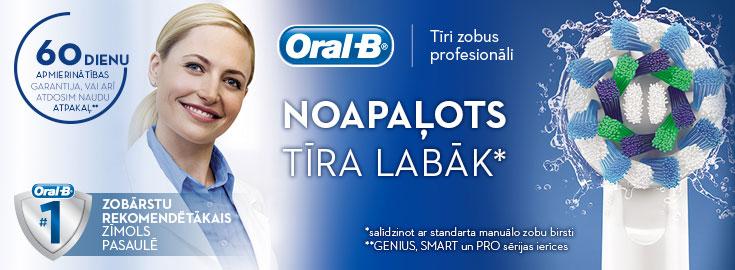 Noapaļots tīra labāk - Oral-B