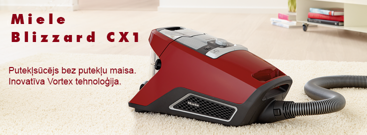 Miele vacuum front
