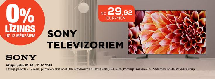 0% Sony TV