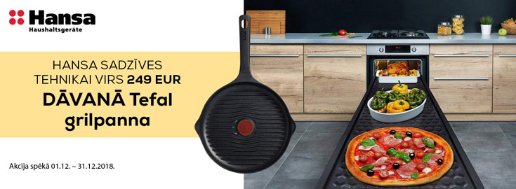 Tefal grillpan as gift
