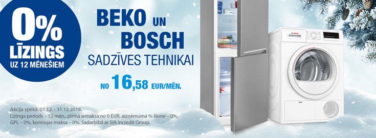 0% Beko/Bosch