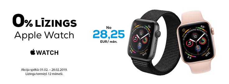 0% Apple watch