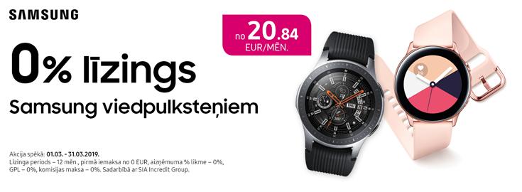 0% Samsung smartwatches