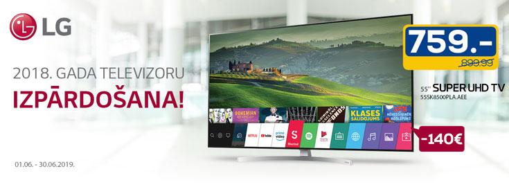 LG 2018. TV