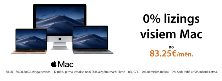 0% Apple Mac