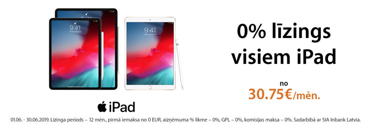 0% Apple iPad