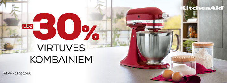 30% kitchenaid