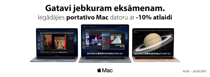 10% Apple Mac