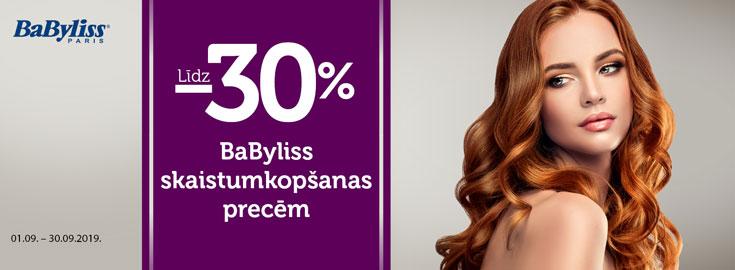 30% Babyliss
