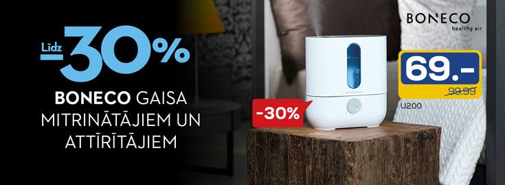 30% on Boneco