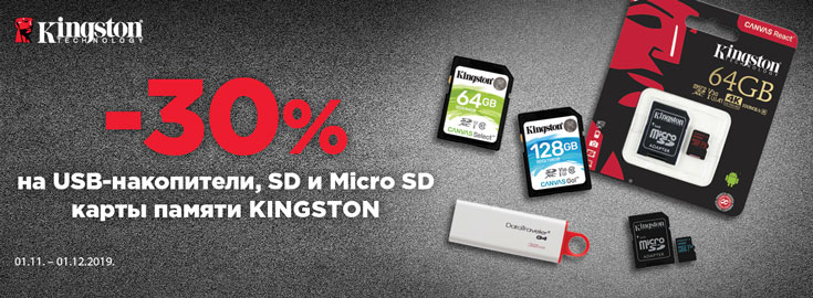 Kingston 30%
