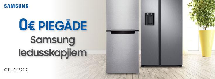 Bezmaksas piegāde visiem ledusskapjiem, visā Latvijā