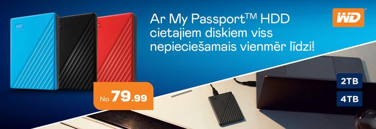 My passport HDD