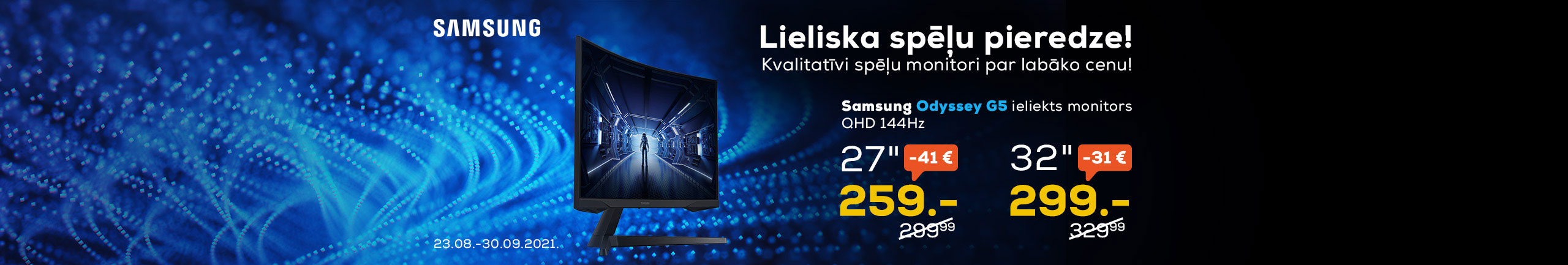 GR Samsung Odyssey G5
