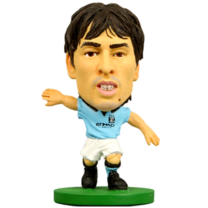 Statuete David Silva Man City, SoccerStarz