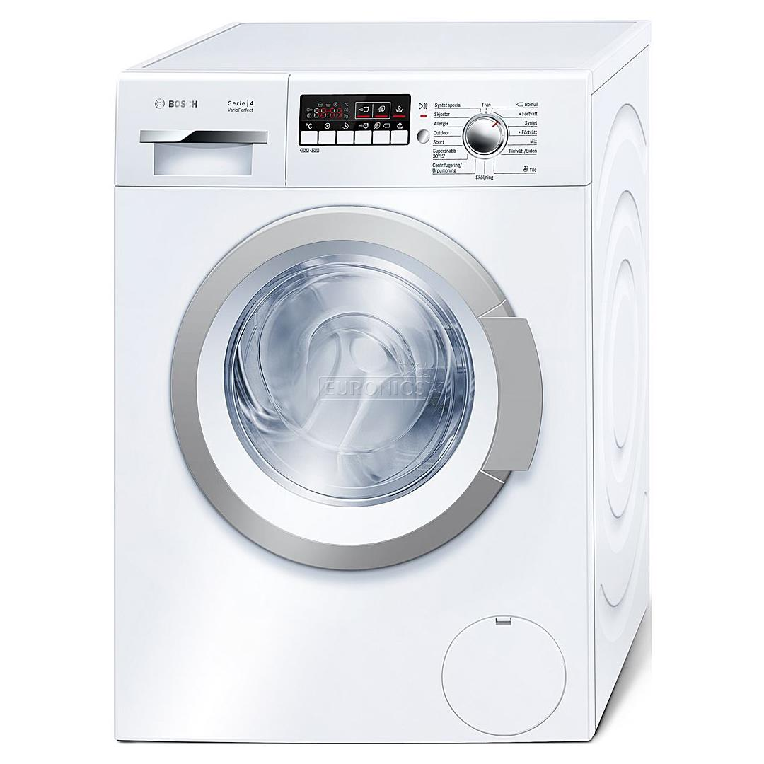 washing machine serie 4 varioperfect bosch 1400 rpm wak28298sn. Black Bedroom Furniture Sets. Home Design Ideas