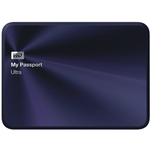 Ārējais cietais disks My Passport Ultra 10th Anniversary Edition, Western Digital / 2TB