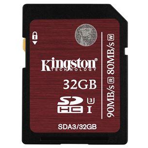 Atmiņas karte SDHC 32GB, Kingston