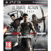 Spēle priekš PlayStation 3, Ultimate Action Triple Pack