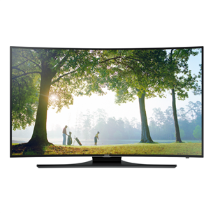 3D 48 Full HD LED LCD Curved televizors, Samsung