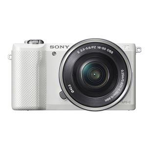 Digitālā fotokamera ILCE-5000 ar 16-50mm objektīvu, Sony