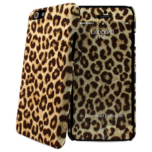 Apvalks priekš iPhone 6 Hard Case + Skin Leopard, i-Paint