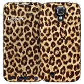 Apvalks priekš Galaxy S4 Hard Case + Skin Leopard, i-Paint