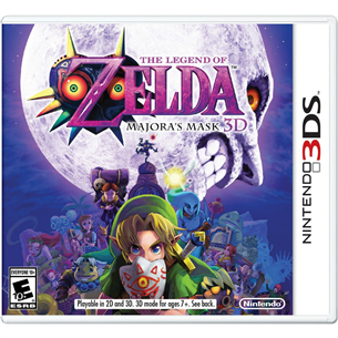 Spēle priekš Nintendo 3DS, Zelda: Majoras Mask