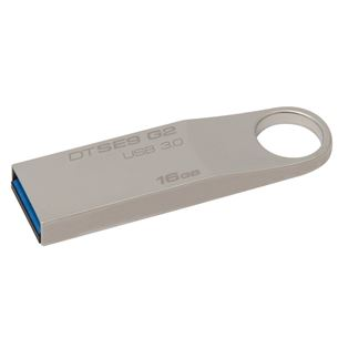 USB zibatmiņa DT SE9 Metal Casing, Kingston / 16GB