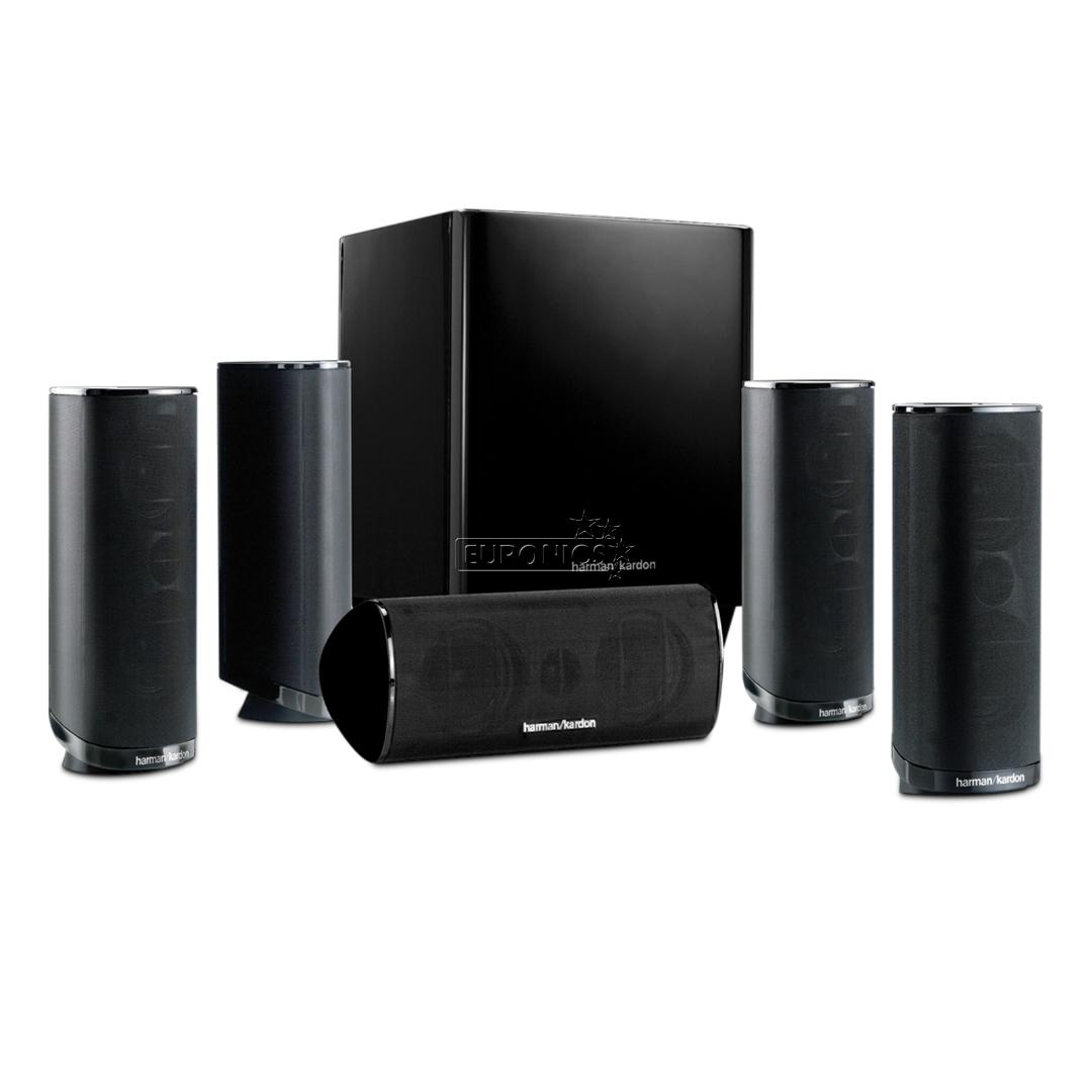 5 1 home cinema speaker set harman kardon hkts16bq 230. Black Bedroom Furniture Sets. Home Design Ideas