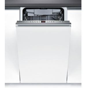 Iebūvējama trauku mazgājamā mašīna, Bosch / 10 trauku komplekti